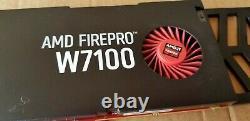 AMD FirePro W7100 8gb GDDR5 4 DisplayPorts PCI-Express Video Card