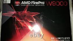 AMD FirePro W9000 6GB GDDR5 6x Mini DisplayPorts PCIe Video Graphics Card
