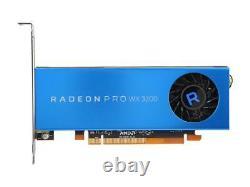 AMD Radeon Pro WX 3200 100-506115 4GB 128-bit GDDR5 PCIe 3.0 x16 (x8 Electrical)
