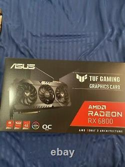 ASUS TUF Gaming AMD Radeon RX 6800 OC Edition Graphics Card PCIe 4.0, 16GB GDDR