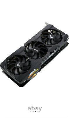 ASUS TUF-RTX3060TI 8GB GDDR6 PCI Express 4.0 Graphics Card-Black Ready To Ship