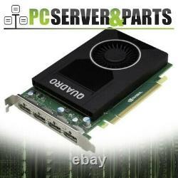 Dell Nvidia Quadro M2000 4GB GDDR5 PCI-e Workstation Video Graphics Card W2TP6
