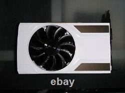 EVGA GTX 950 SC GPU Video Card 2GB Painted White. SLI DX12 GDDR5 PCIE 3.0 X16