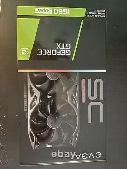 EVGA NVIDIA GeForce GTX 1660 Super 6GB GDDR6 PCI Express 3.0 Card Black