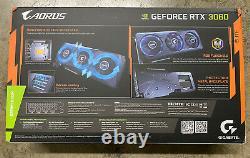 GIGABYTE AORUS NVIDIA GeForce RTX 3060 12GB GDDR6 PCI Express 4.0 Graphics