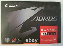 GIGABYTE AORUS Radeon RX 580 4GB GDDR5 PCIE 3.0 x16 CrossFireX GV-RX580AORUS-4GD