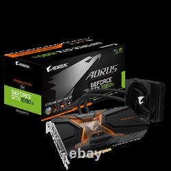 Gigabyte AORUS GeForce GTX 1080Ti Waterforce Xtreme 11GB GDDR5X PCI-E Video Card