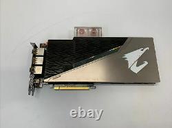 Gigabyte Aorus Geforce RTX 2080 XTREME 8GB GDDR6 Waterforce PCI-e Graphic Card
