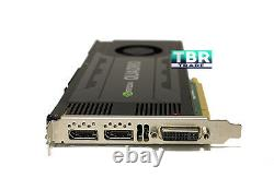 HP NVIDIA Quadro K4200 4GB GDDR5 PCI-E 2.0 x16 Video Graphics Card 764900-001
