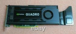 HP Nvidia Quadro K4000 PCI-E 3GB GDDR5 Graphic Card DVI-I + 2x DP1.2 713381-001