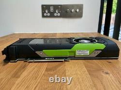 HP/Nvidia Quadro M6000 12GB GDDR5 PCIe 3.0 x16 GPU Professional Graphics Card