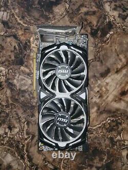 MSI AMD Radeon RX 480 Armor (RX 480 ARMOR 8G OC) 8GB GDDR5 SDRAM PCI Express 3