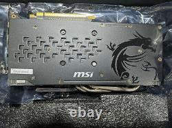 MSI AMD Radeon RX 480 Gaming (RX480GAMINGX8G) 8GB GDDR5 SDRAM PCI Express 3.0 x1