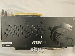MSI AMD Radeon RX 480 Gaming (RX480GAMINGX8G) 8GB GDDR5 SDRAM PCI Express GPU
