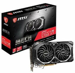 MSI Radeon RX 5700 XT MECH OC Graphics Card PCI-E 4.0, 8G GDDR6 VR Ready 1925MHz
