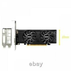 MSI Video Card GeForce GTX 1650 4GT LP PCI Exp 3.0 x16 4GB GDDR5 Fast Ship Japan