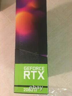 NEW EVGA GeForce RTX 2080 Ti FTW3 ULTRA 11GB GDDR6 Graphics Card 11G-P4-2487-KR