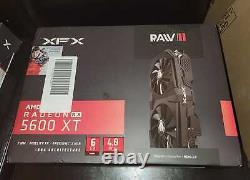 NEW XFX AMD Radeon RX 5600 XT RAW II 6GB GDDR6 PCI Express 4.0 Graphics Card