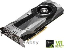 NVIDIA GeForce GTX 1080 Founders Edition 8GB GDDR5X PCIE 3.0 Video Graphics Card