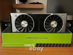 NVIDIA GeForce RTX 2080 Ti Founders Edition 11GB GDDR6 PCI Express 3.0