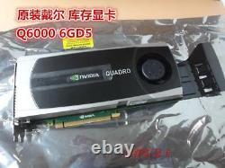NVIDIA Quadro 6000 6GB GDDR5 PCI-E x16 Graphics Card GPU Workstation CAD Dell HP
