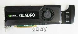 NVIDIA Quadro K5000 4GB GDDR5 PCIe 2.0 x16 Dual Slot Graphics Card CFTKF