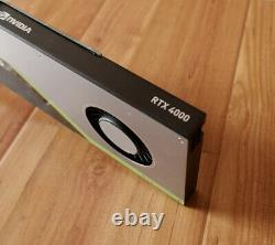 NVIDIA Quadro RTX 4000 8GB GDDR6 PCI-E 3.0 x16 Graphics Card CUDA RT Tensor
