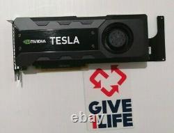 NVIDIA TESLA K20 0PVX28 5GB GDDR5 PCIe x16 Graphics accelerator card SERVIDOR