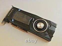 NVIDIA TITAN Xp 12GB GDDR5X PCI Express Graphics Card (900-1G611-2530-000)