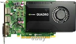 NVidia Quadro K2200 4GB GDDR5 PCIe-x16 FH (VCQK2200)