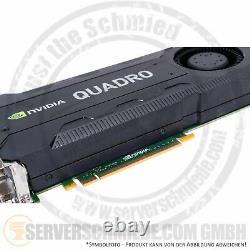 NVidia Quadro K5200 8GB GDDR5 2x DP 2x DVI Grafikkarte PCIe x16 Radial FAN rear