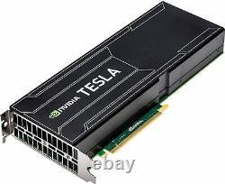 New 12GB GDDR5 PCIe 3.0 x 16, PASSIVE ACCELERATOR CARD 747401-001 TESLA K40 HPE