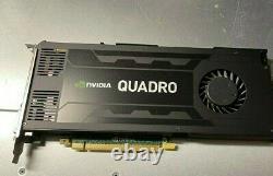 Nvidia Quadro K4200 4GB GDDR5 256-bit PCI Express 2.0 x16 Video Card FAST SHIP