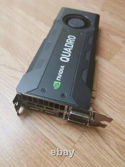 Nvidia Quadro k5200 (8GB GDDR5 PCI-E x16 Dual Display Port Dual DVI)