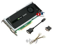 PNY NVIDIA Quadro 4000 2GB PCIe GDDR5 Workstation Video Graphics Card VCQ4000-PB
