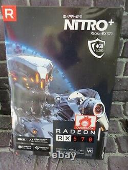 SAPPHIRE Radeon NITRO+ RX 570 4GB GDDR5 PCI-Express Graphics Card
