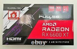 Sapphire Pulse AMD Radeon RX 6600 XT 8 GB GDDR6 Pcie 4.0 RDNA2 Brand New Sealed