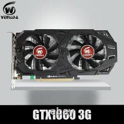 VEINEDA Graphics Card GTX 1060 3GB 192Bit GDDR5 GPU Video Card PCI-E3.0 For