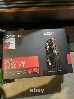 XFX AMD Radeon RX 5700 XT RAW II 8GB GDDR6 PCI Express 4.0 Graphics Card NEW