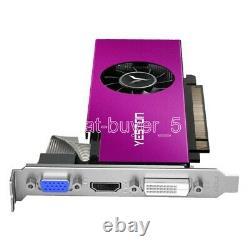 YESTON AMD Radeon RX550 4GB GDDR5 PCI-E Graphics Video Card VGA DVI HDMI